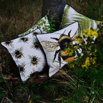 Load image into Gallery viewer, McAlister Textiles Bug's Life Bumble Bees Cushion Cushions and Covers
