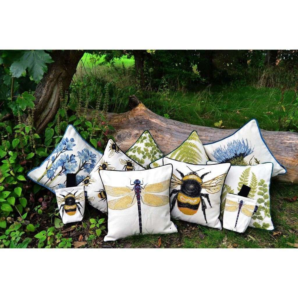 McAlister Textiles Bug's Life Dragonfly Cushion Cushions and Covers