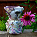 Load image into Gallery viewer, McAlister Textiles Wildflower Pastel Purple Linen Door Stop Doorstops