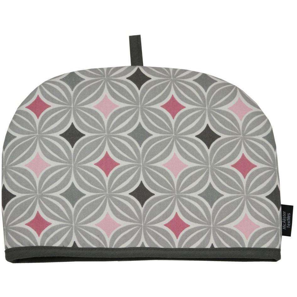 McAlister Textiles Laila Pink Cotton Print Tea Cosy Kitchen Accessories