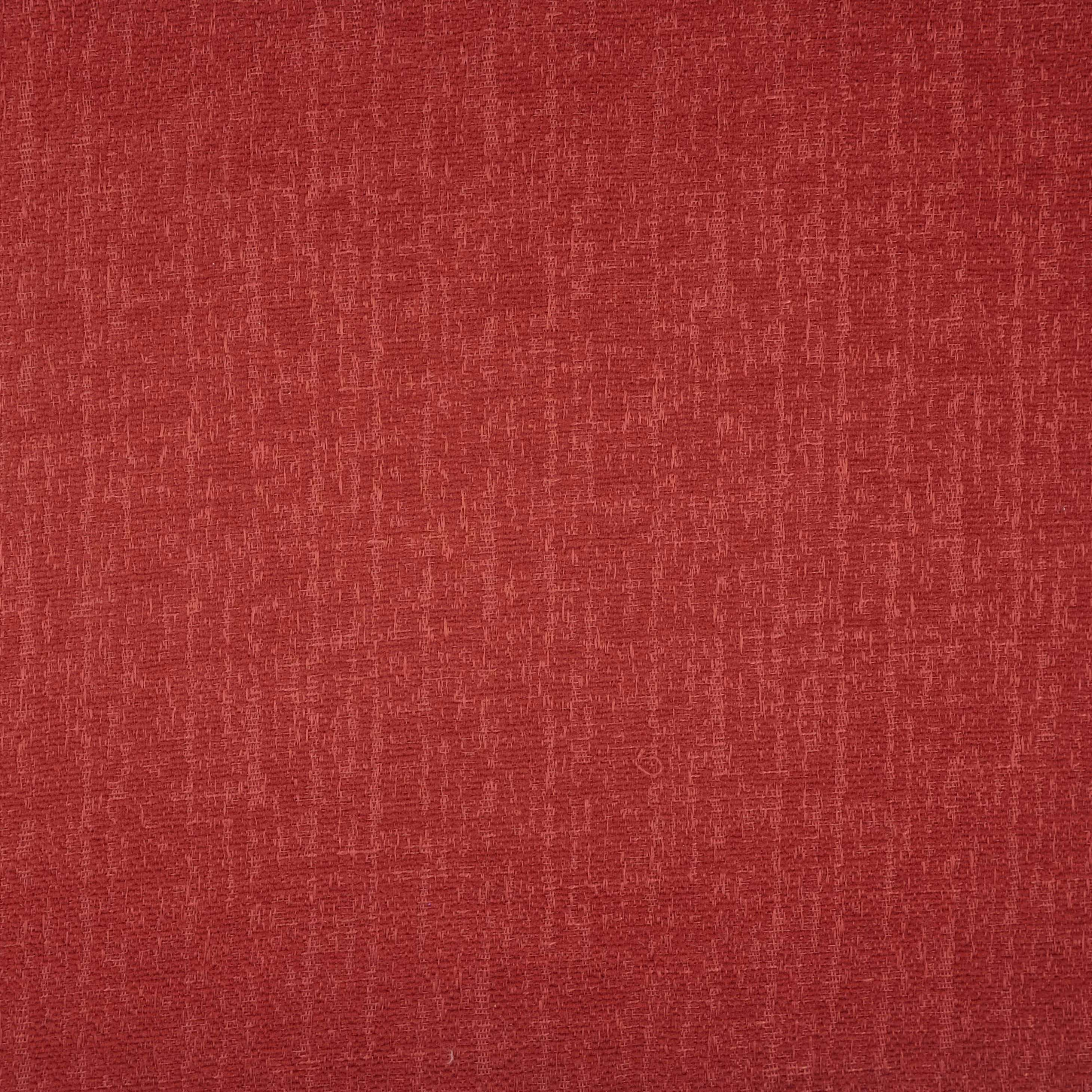 McAlister Textiles Eternity Red Chenille Fabric Fabrics