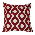 Load image into Gallery viewer, McAlister Textiles Arizona Geometric Red Pillow Pillow Cover Only 43cm x 43cm