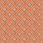Load image into Gallery viewer, McAlister Textiles Elva Geometric Burnt Orange Roman Blind Roman Blinds