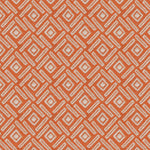 Load image into Gallery viewer, McAlister Textiles Elva Geometric Burnt Orange Cushion Cushions and Covers