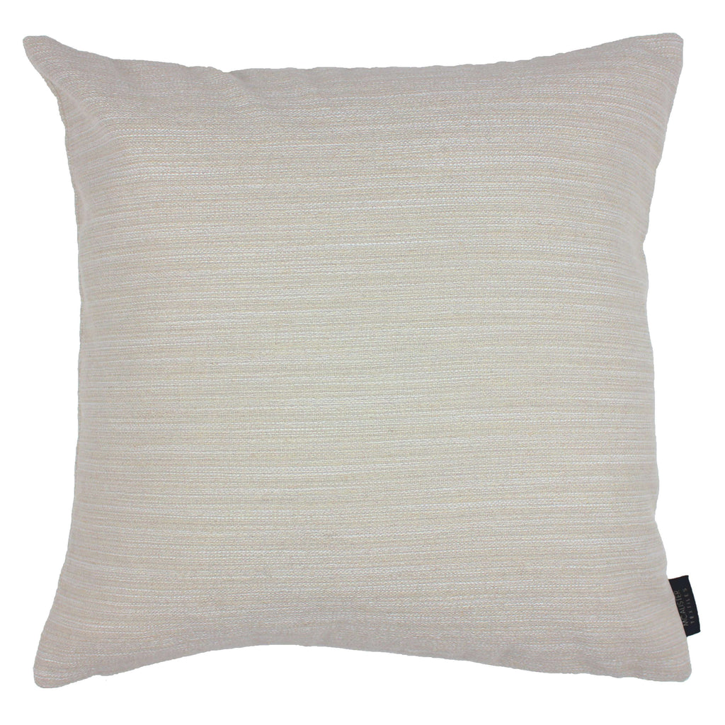 McAlister Textiles Hamleton Natural Textured Plain Cushion Cushions and Covers Cover Only 49cm x 49cm