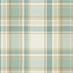 Laden Sie das Bild in den Galerie-Viewer, McAlister Textiles Heritage Duck Egg Blue Tartan Bedding Set Bedding Set