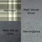 Charger l'image dans la galerie, McAlister Textiles Heritage Charcoal Grey Tartan Home Decor Design Set Regular (130cm x 200cm)