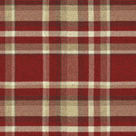 Laden Sie das Bild in den Galerie-Viewer, McAlister Textiles Heritage Red + White Tartan Home Decor Design Set