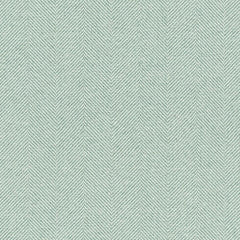 McAlister Textiles Herringbone Woven Wool Touch Fabric - Duck Egg Blue-Fabrics-