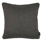 Carica l'immagine nel visualizzatore di Gallery, McAlister Textiles Highlands Charcoal Grey Textured Plain Cushion Cushions and Covers Cover Only 49cm x 49cm