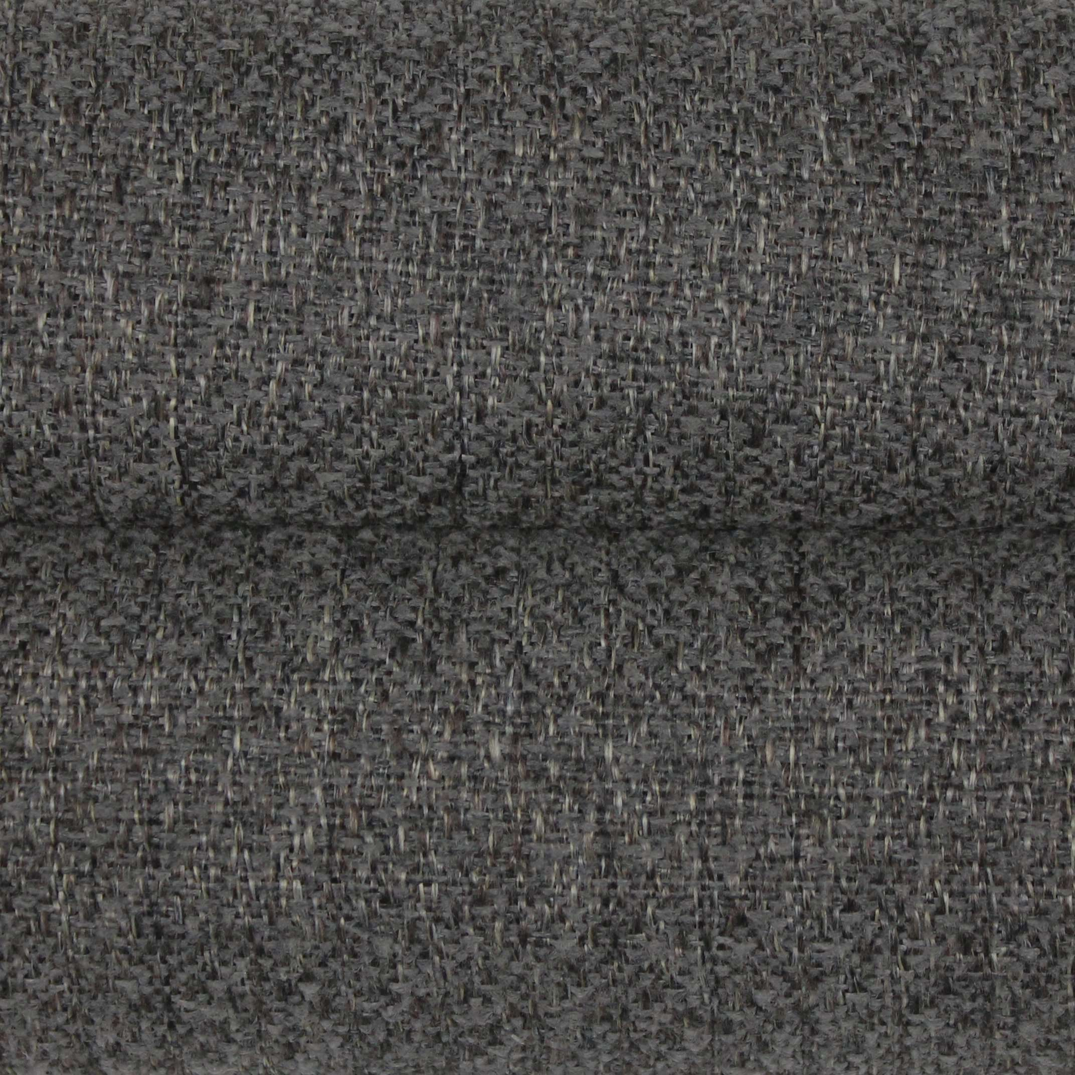 McAlister Textiles Highlands Rustic Plain Charcoal Grey Fabric Fabrics