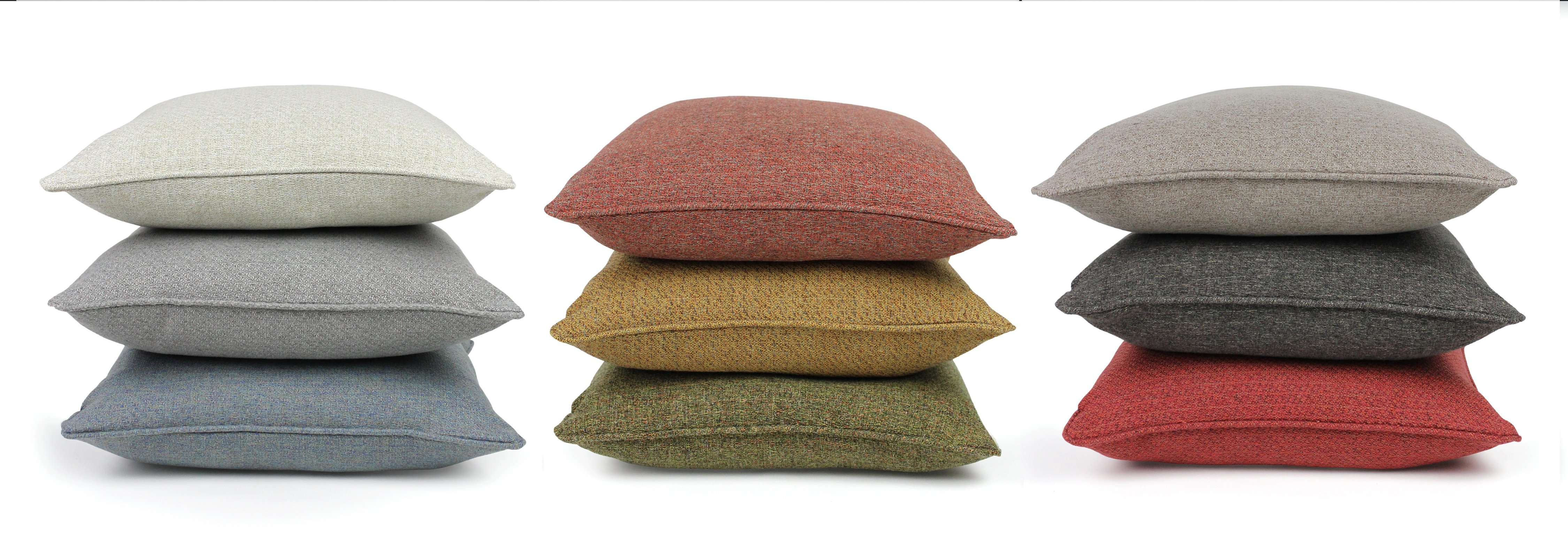 McAlister Textiles Highlands Charcoal Grey Textured Plain Cushion Cushions and Covers