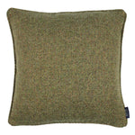 Laden Sie das Bild in den Galerie-Viewer, McAlister Textiles Highlands Forest Green Textured Plain Cushion Cushions and Covers Cover Only 49cm x 49cm