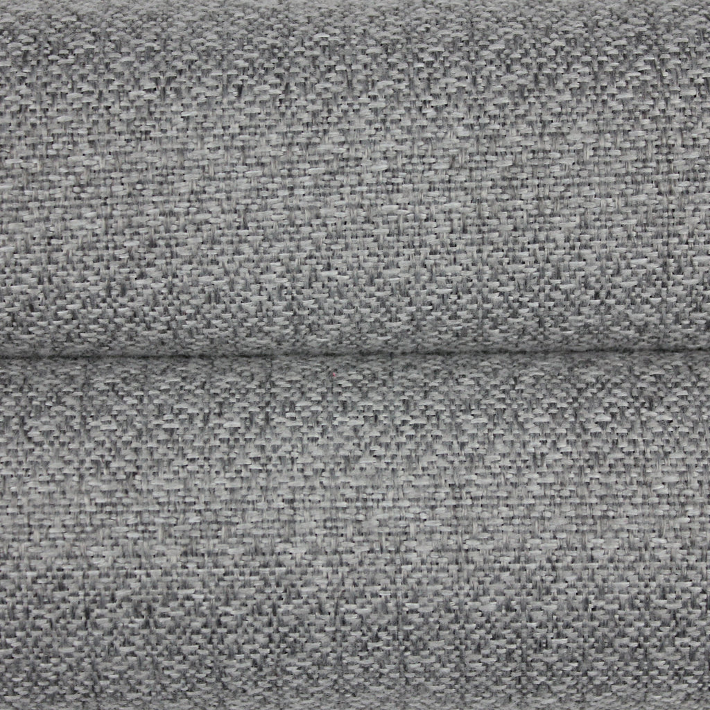 McAlister Textiles Highlands Rustic Plain Soft Grey Fabric Fabrics