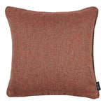 Cargar imagen en el visor de la galería, McAlister Textiles Highlands Terracotta Textured Plain Cushion Cushions and Covers Cover Only 49cm x 49cm