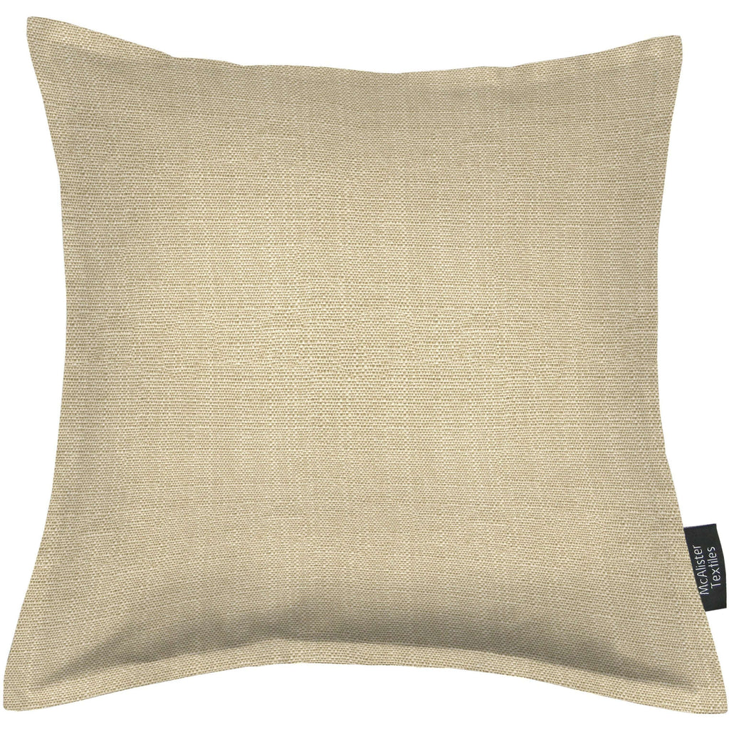 McAlister Textiles Savannah Beige Grey Pillow Pillow Cover Only 43cm x 43cm
