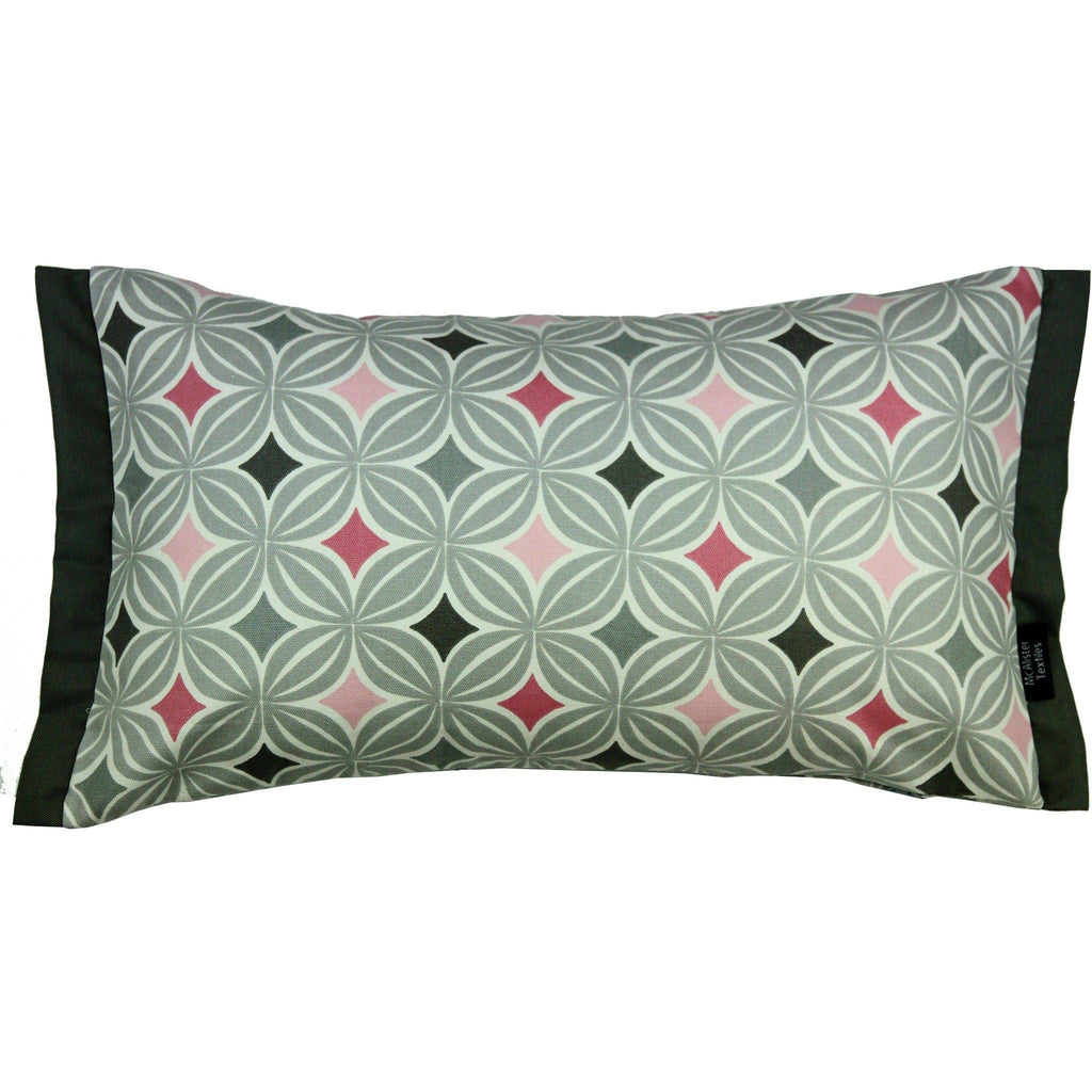 McAlister Textiles Laila Cotton Print Blush Pink Pillow Pillow Cover Only 50cm x 30cm