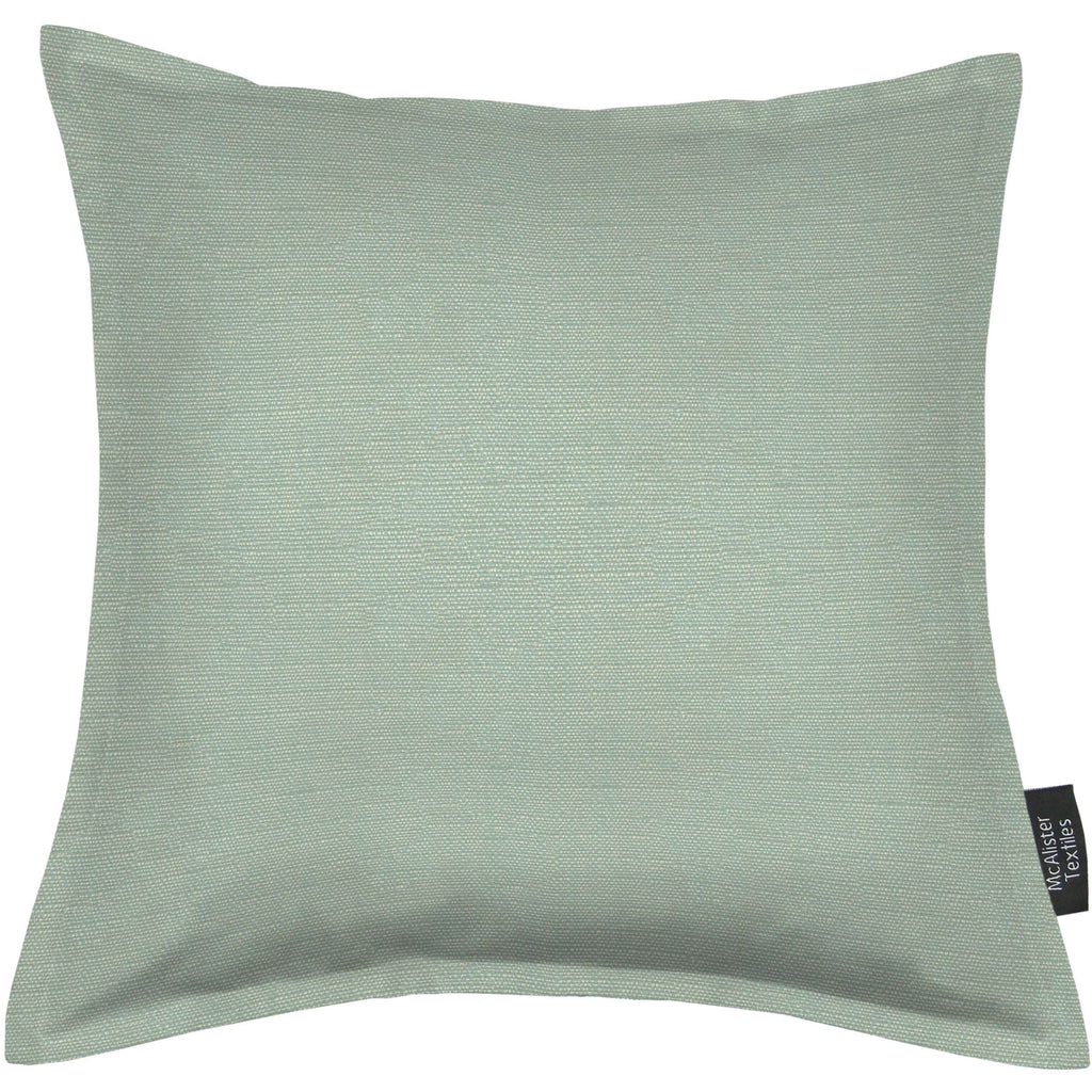 McAlister Textiles Savannah Duck Egg Blue Pillow Pillow Cover Only 43cm x 43cm