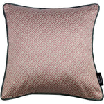 Carica l'immagine nel visualizzatore di Gallery, McAlister Textiles Elva Geometric Blush Pink Cushion Cushions and Covers Cover Only 43cm x 43cm