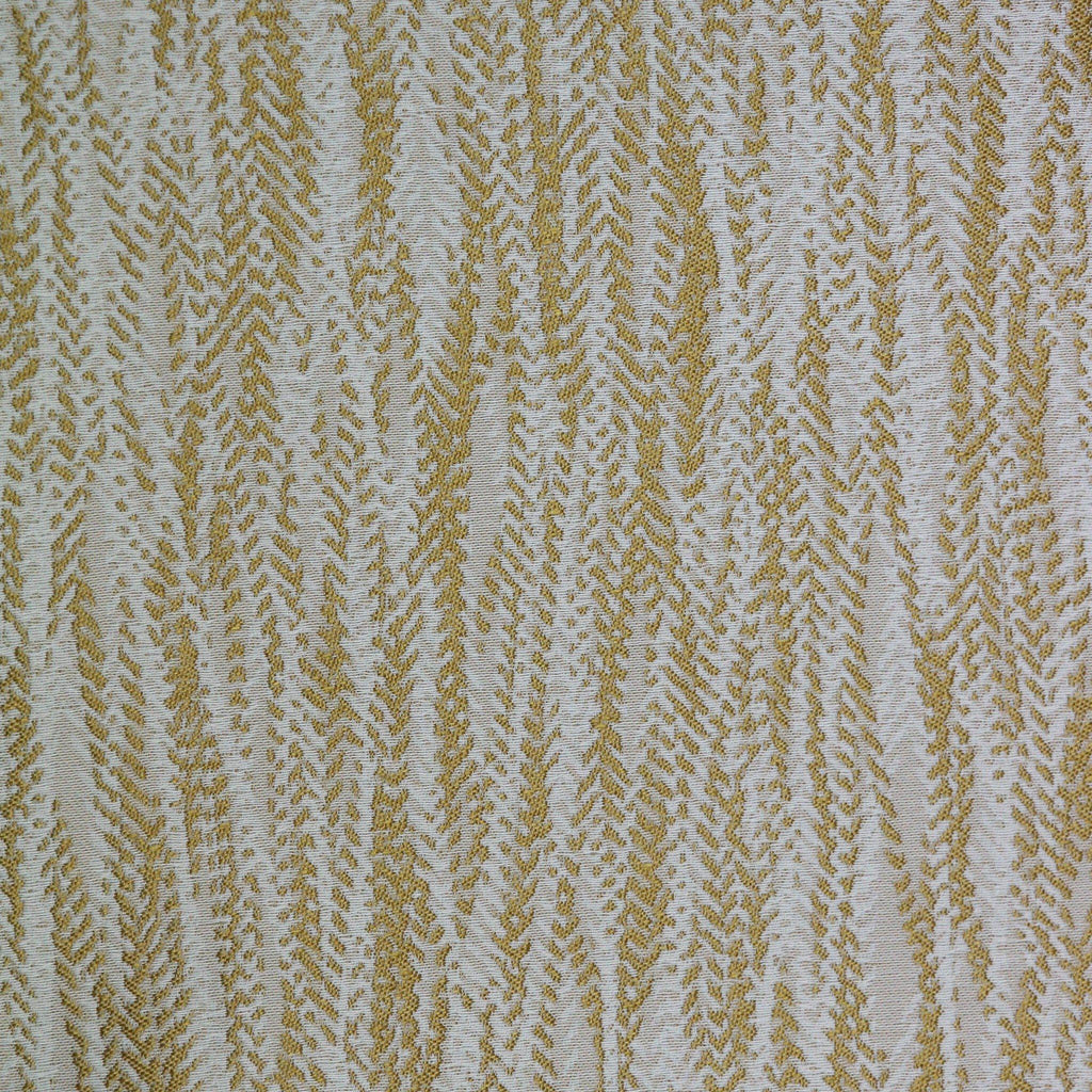 McAlister Textiles Lorne Fire Resistant Contract Fabric - Ochre Yellow-Fabrics-