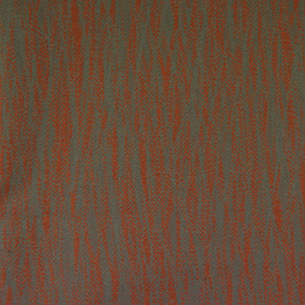 McAlister Textiles Lorne Fire Retardant Burnt Orange Fabric Fabrics 1 Metre