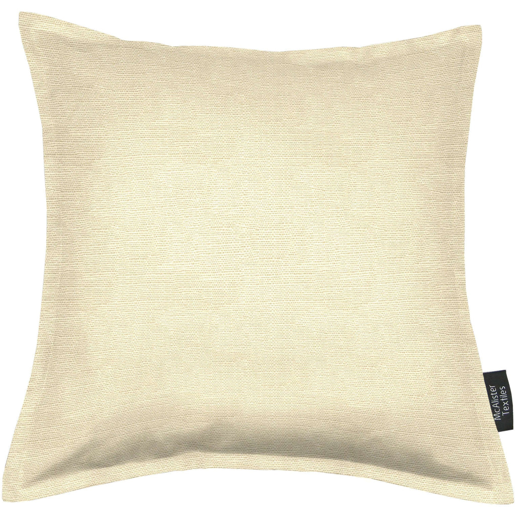 McAlister Textiles Savannah Cream Gold Cushion Cushions and Covers Cover Only 43cm x 43cm