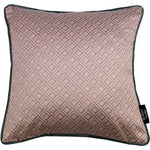 Load image into Gallery viewer, McAlister Textiles Elva Geometric Blush Pink Pillow Pillow Cover Only 43cm x 43cm