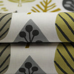 Load image into Gallery viewer, McAlister Textiles Magda Cotton Print Ochre Yellow Fabric Fabrics