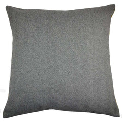 McAlister Textiles Boutique Deluxe Herringbone Large Floor Cushion | Charcoal Grey and Ochre-Floor Cushions-