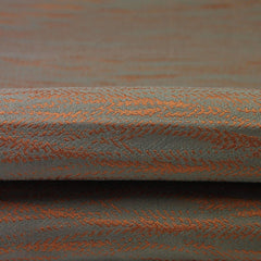 McAlister Textiles Lorne Fire Resistant Contract Fabric - Burnt Orange-Fabrics-