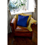 Load image into Gallery viewer, McAlister Textiles Matt Ochre Yellow Velvet Throw Blanket Throws and Runners