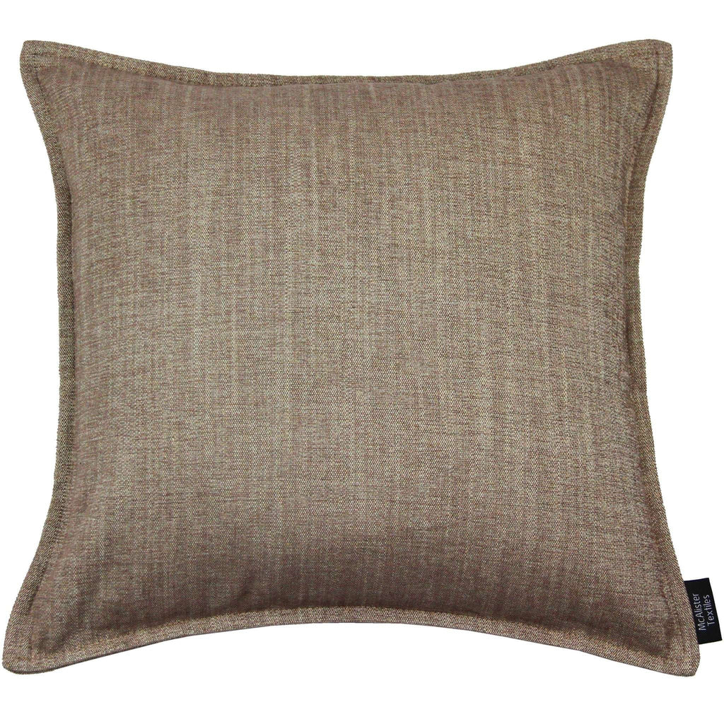 McAlister Textiles Rhumba Taupe Beige Cushion Cushions and Covers Cover Only 43cm x 43cm