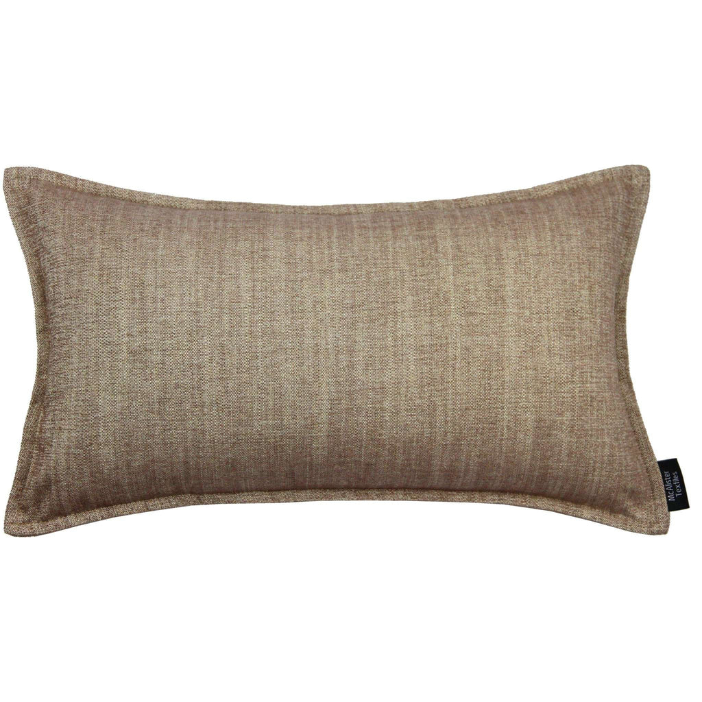 McAlister Textiles Rhumba Taupe Beige Pillow Pillow Cover Only 50cm x 30cm