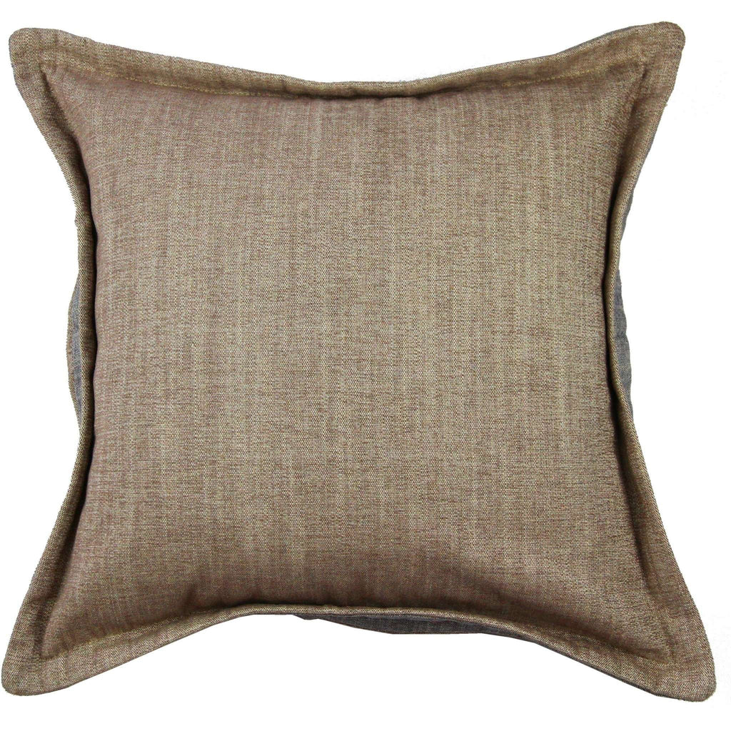 McAlister Textiles Rhumba Accent Taupe Beige + Grey Cushion Cushions and Covers Cover Only 43cm x 43cm