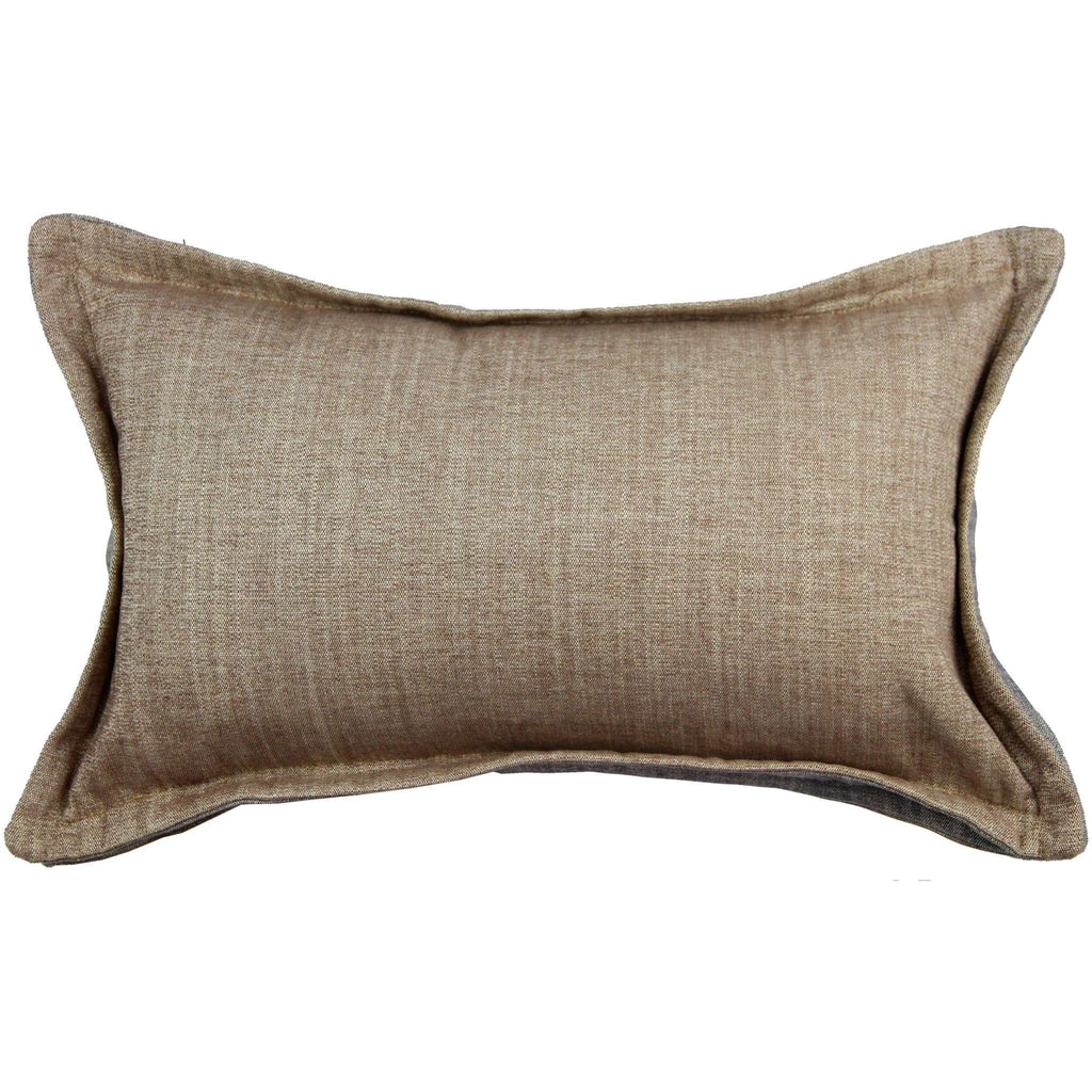 McAlister Textiles Rhumba Accent Taupe Beige + Grey Cushion Cushions and Covers Cover Only 50cm x 30cm