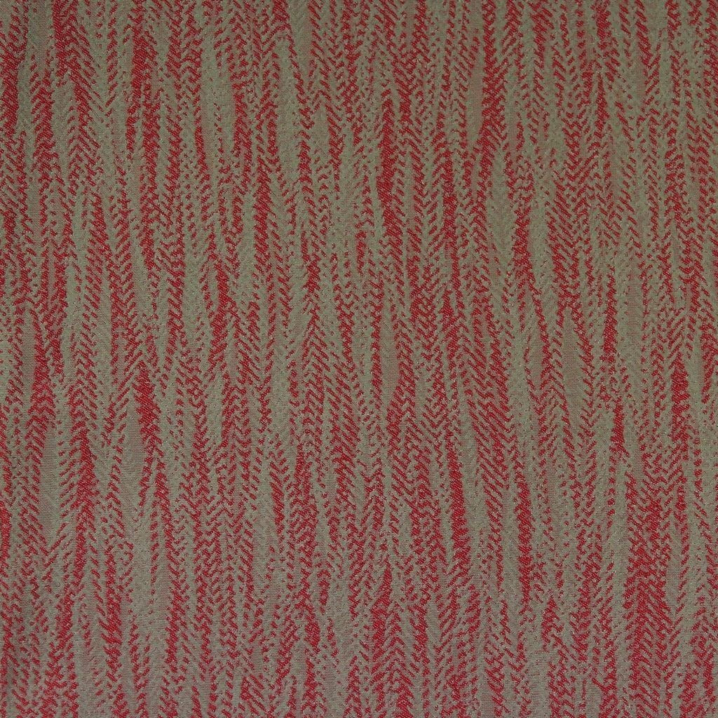 McAlister Textiles Lorne FR Contract Red Fabric-Fabrics-