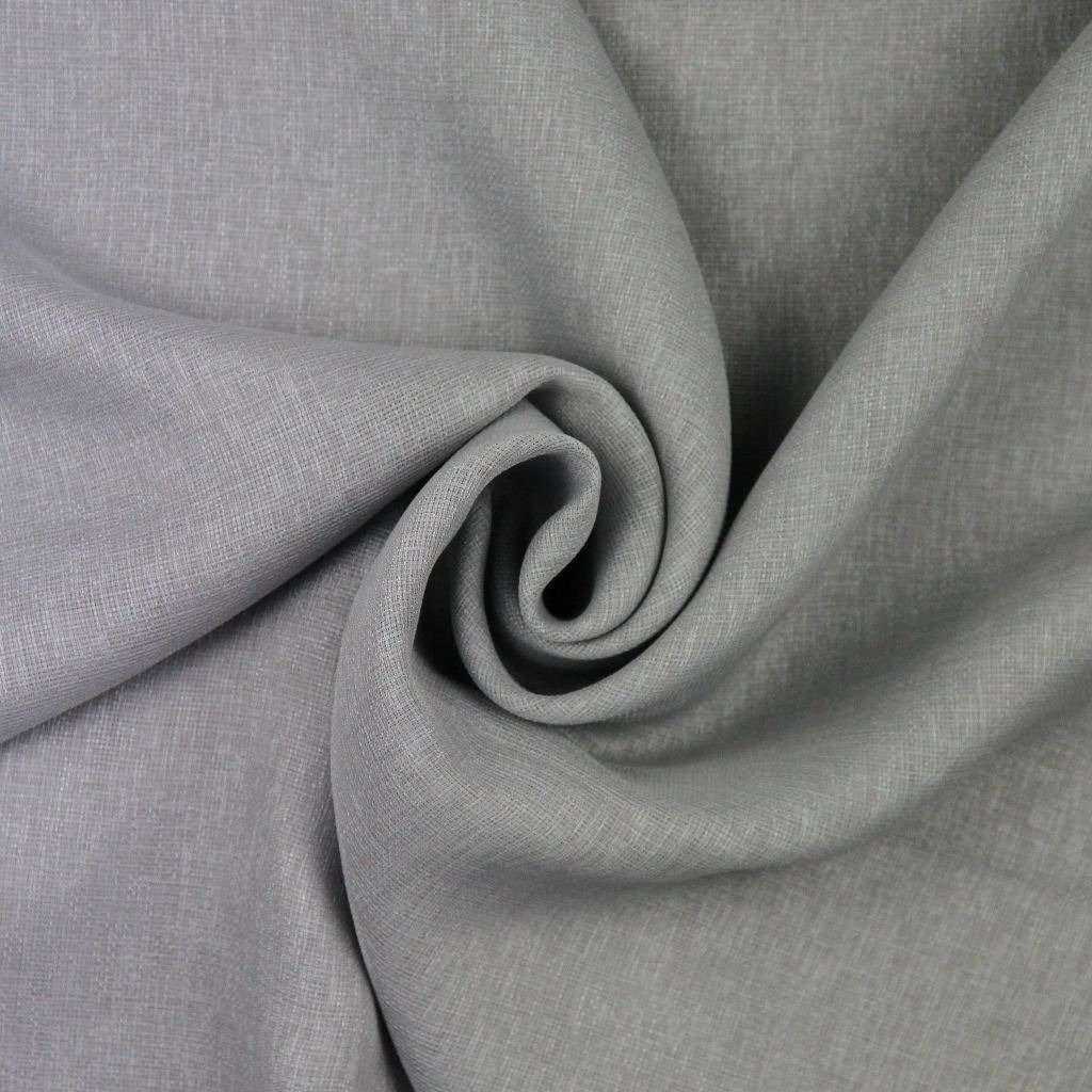 McAlister Textiles Momentum Voile Silver Grey Curtain Fabric Sample Fabrics