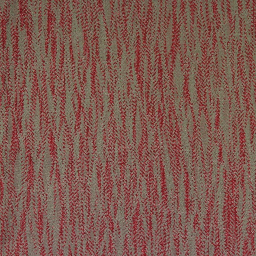 McAlister Textiles Lorne Red Contract Curtains Tailored Curtains