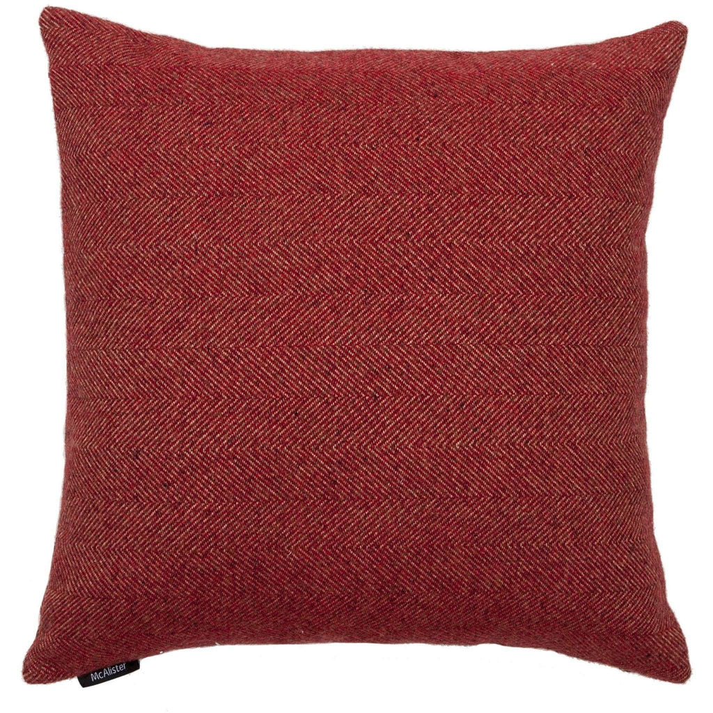 McAlister Textiles Wildflower Burnt Orange Linen Pillow Pillow
