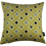 Load image into Gallery viewer, McAlister Textiles Laila Cotton Print Ochre Yellow Cushion Cushions and Covers Cover Only 43cm x 43cm