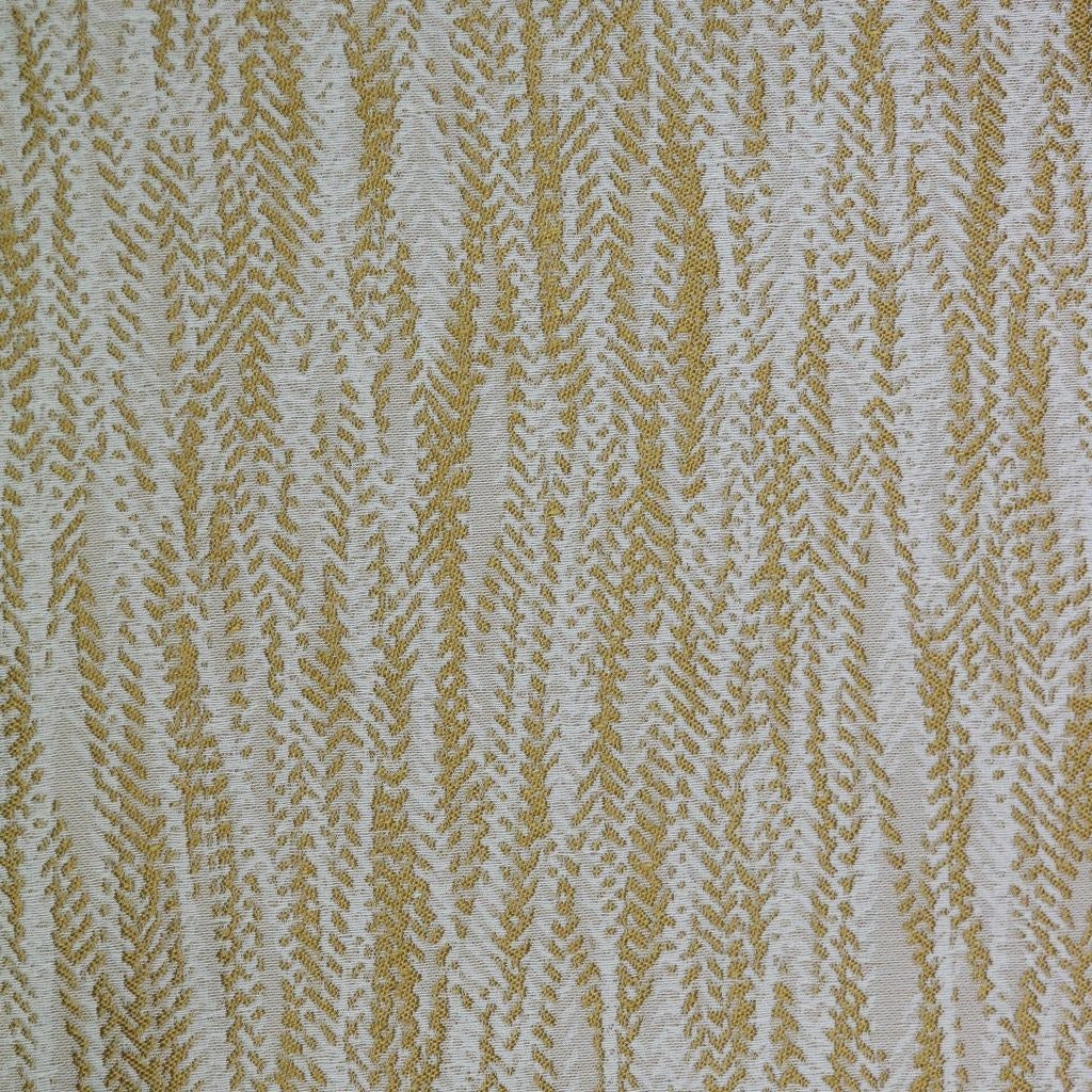 McAlister Textiles Lorne FR Contract Fabric Sample - Ochre Yellow-Fabrics-