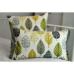 Load image into Gallery viewer, McAlister Textiles Magda Cotton Print Ochre Yellow Cushion Cushions and Covers