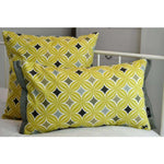 Load image into Gallery viewer, McAlister Textiles Laila Cotton Print Ochre Yellow Cushion Cushions and Covers