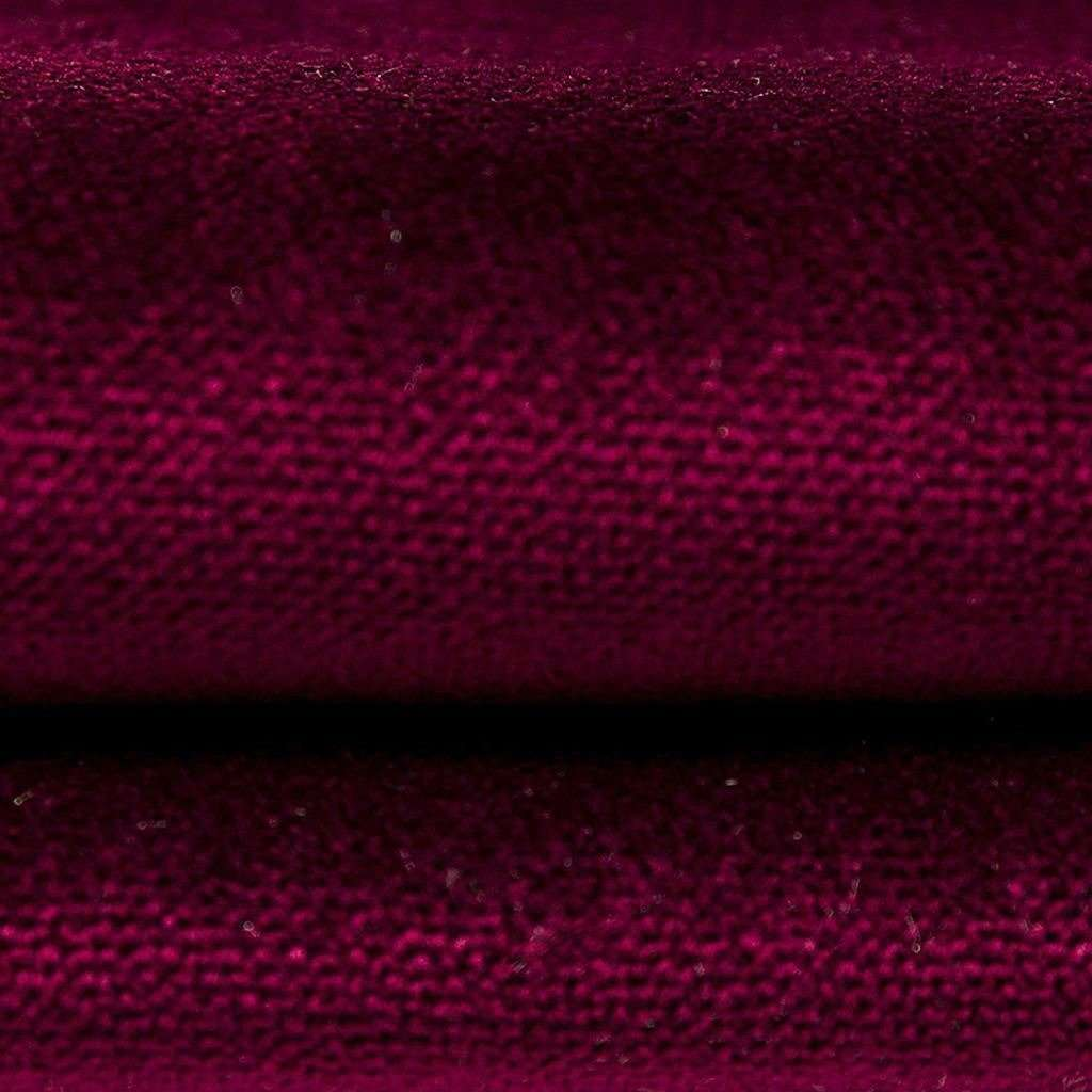 McAlister Textiles Matt Wine Red Velvet Throw Blankets & Runners Throws and Runners