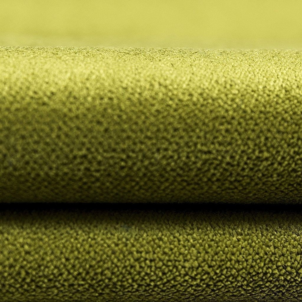 McAlister Textiles Matt Lime Green Velvet Throw Blankets & Runners Throws and Runners