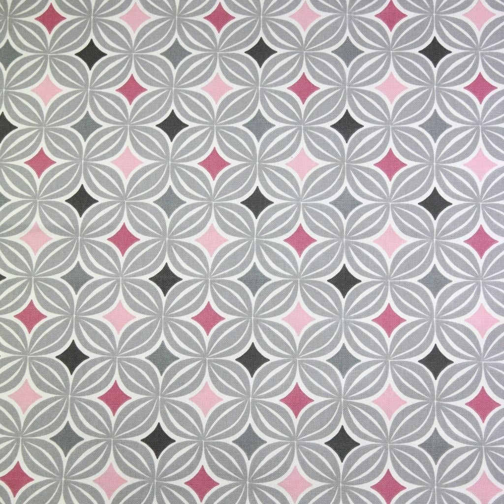 McAlister Textiles Laila Cotton Blush Pink Printed Fabric Fabrics 1/2 Metre