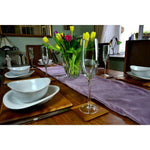 Load image into Gallery viewer, McAlister Textiles Matt Lilac Purple Velvet Table Runner Throws and Runners
