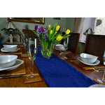 Load image into Gallery viewer, McAlister Textiles Matt Navy Blue Velvet Table Runner Throws and Runners