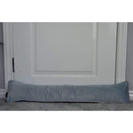 Load image into Gallery viewer, McAlister Textiles Matt Dove Grey Velvet Draught Excluder Draught Excluders