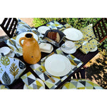 Load image into Gallery viewer, McAlister Textiles Vita Yellow Cotton Print Apron Kitchen Accessories